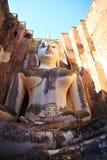 Phra Achana in Wat Si Chum al parco storico di Sukhothai Fotografia Stock