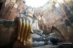 Phra Achana in Wat Si Chum at Sukhothai Historical park, Thailan Stock Images