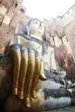 Phra Achana in Wat Si Chum at Sukhothai Historical park, Thailan Royalty Free Stock Image