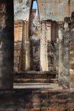 Phra Achana in Wat Si Chum at Sukhothai Historical park Royalty Free Stock Photography