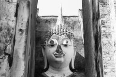 Phra Achana in Wat Si Chum, Sukhothai, Thailand, Stock Photo