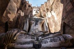 Phra Ajana на приятеле Wat Si, Sukhothai стоковое изображение