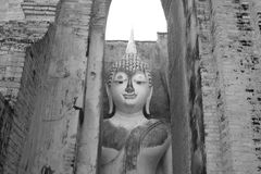 Phra Ajana, Sukhothai, Tailandia fotografía de archivo libre de regalías
