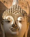 Phra Ajana in Wat Si Chum, het Historische Park van Sukhothai, Thailand Royalty-vrije Stock Fotografie
