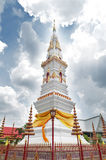 Phra That Anon, an old Thai chedi stupa or pagoda containing relic of Ananda, Yasothon, Thailand. Phra That Anon, an old Thai chedi stupa or pagoda containing royalty free stock photo