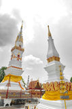 Phra That Anon, an old Thai chedi stupa or pagoda containing relic of Ananda, Yasothon, Thailand. Phra That Anon, an old Thai chedi stupa or pagoda containing royalty free stock image