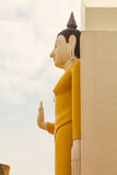 Phra atta rassa : detail buddha statue at Wat Yai Phitsanulok, T. Phra atta rassa : detail buddha statue at Wat Pra sri rattana mahathat woramahavihan Wat Yai royalty free stock photo