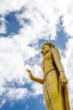 Phra Boedha mongkhon maharaj, larg die het Standbeeld van Boedha bevinden zich Stock Fotografie