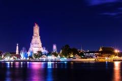 Phra bombarda maggiore reno di Wat Arun fotografia stock libera da diritti