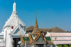 Phra Borom Maha Ratcha Wang and Rajakaranya Sapha Hall on sunny. Day. Grand Palace, Bangkok, Thailand Stock Photography