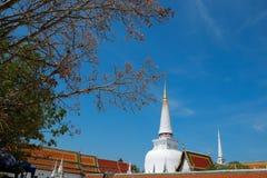 Phra borom mathat pagoda Royalty Free Stock Images