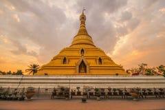 Phra Borom That Temple, Nakhon Chum, Kamphaeng Phet, Thailand. Royalty Free Stock Photo
