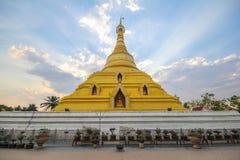 Phra Borom That Temple, Nakhon Chum, Kamphaeng Phet, Thailand. Royalty Free Stock Photography