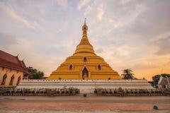 Phra Borom That Temple, Nakhon Chum, Kamphaeng Phet, Thailand. Stock Photography