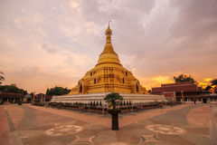Phra Borom That Temple, Nakhon Chum, Kamphaeng Phet, Thailand. Stock Photo