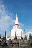 Phra Boromathat Chedi eller Phra den Nakhon pagod Royaltyfri Foto