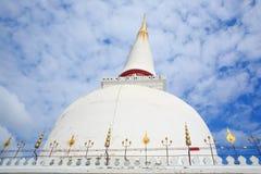 Phra Boromathat Chedi o Phra esa pagoda de Nakhon Imagen de archivo libre de regalías