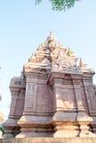 Phra Borommathat Chaiya pagod, forntida Siam Arkivfoton