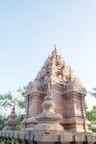Phra Borommathat Chaiya pagoda, Ancient Siam Stock Image