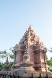 Phra Borommathat Chaiya pagoda, Thailand Royalty Free Stock Images