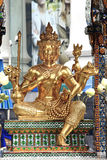 Phra Brahma. Hindu god, place of worship, Rajprasong square Bangkok, Thailand stock photography