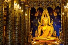 Phra Buddha Chinnarat at Phra Si Rattana Mahathat temple Stock Photography