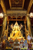 Phra Buddha Chinnarat. At WAT PHRA SRI RATTANA MAHATHAT, Phitsanulok, Thailand Stock Photo