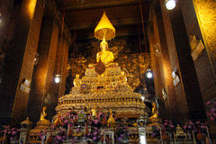 Phra Buddha Deva Patimakorn av Wat Pho 2 Royaltyfria Bilder