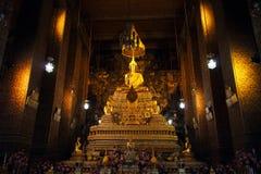 Phra Buddha Deva Patimakorn di Wat Pho 1 Fotografie Stock Libere da Diritti