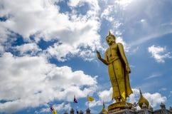Phra buddha mongkhon maharaj, The larg standing buddha Statue Royalty Free Stock Images