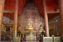 Phra Buddha Si Hing in the temple Thailand Royalty Free Stock Image