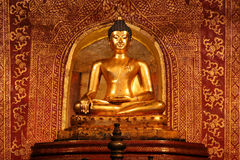 The Phra Buddha Sihing statue Royalty Free Stock Images