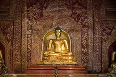 Phra Buddha Sihing at Wat Phra Singh in Chiang Mai Royalty Free Stock Image