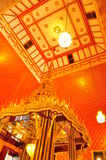 Phra Buddhabat寺庙 免版税库存照片