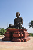 Phra Buddhacharn Toh Phomarangsi, de monniksstandbeeld van Boedha in Thailand Royalty-vrije Stock Afbeeldingen