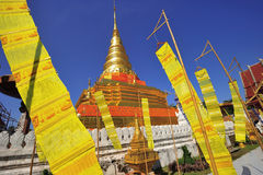 Phra That Chae Haeng, Nan province, Thailand Stock Images