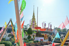 Phra That Chae Haeng,nan,Thailand 1. Nan, Thailand- December 29,2016: In Wat Phra That Chae Haeng,  in Nan province, Northern of Thailand.Photo taken on Stock Image