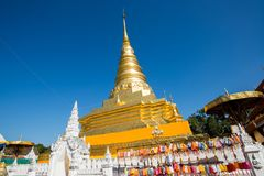 Phra That Chae Haeng. Temple in north of Thailand stock photography