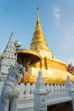 Phra that chae haeng temple Stock Images