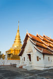 Phra that chae haeng temple Royalty Free Stock Photo