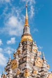 Phra That Chai Ya, famous pagoda in south of Thailand Stock Photo