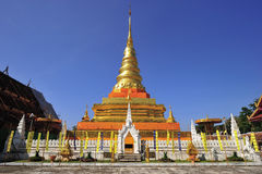 Phra che Chae Haeng, provincia di Nan, Tailandia Immagini Stock Libere da Diritti