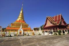 Phra che Chae Haeng, provincia di Nan, Tailandia Fotografia Stock Libera da Diritti