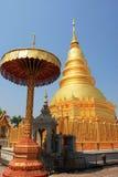 Phra che hariphunchai Fotografia Stock Libera da Diritti