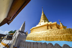 Phra che tempio reale di Chae Haeng, Nan Tailandia Immagine Stock