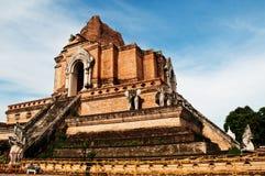 Phra Chedi Luang Foto de archivo libre de regalías