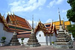 Phra Chedi Rai, Wat Pho, Thailand Royalty Free Stock Images