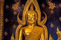 Phra Chinnarat Buddha image. Phra Chinnarat Buddha image in Wat Phra Sri Rattana Mahathat at Phitsanulok, Thailand Royalty Free Stock Photos