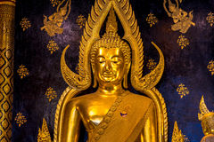 Phra Chinnarat Buddha wizerunek Zdjęcia Royalty Free