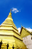 Phra that cho hae temple,Phrae Stock Image